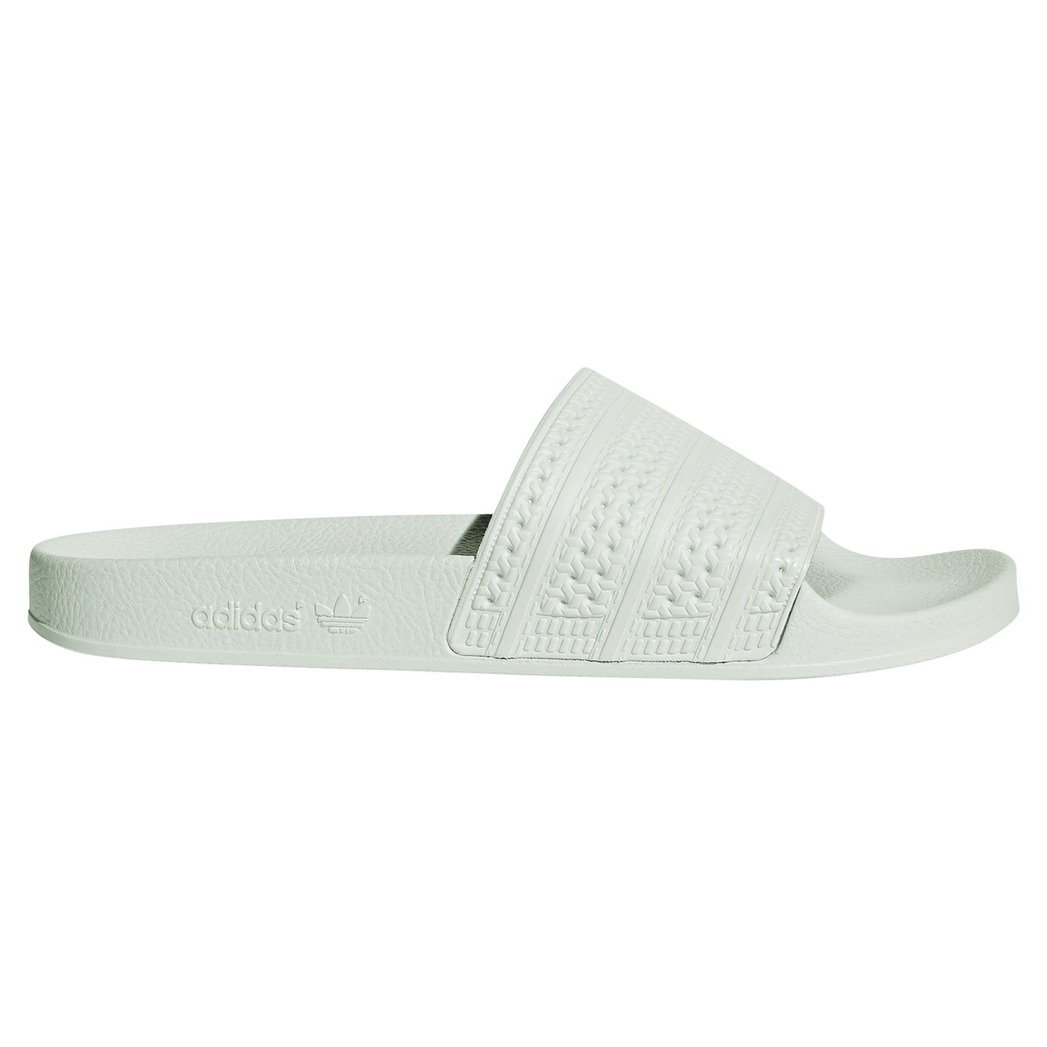 d2044cc26c54c ... tradesports.co.uk adidas Originals Adilette Slides Green Main Image ...