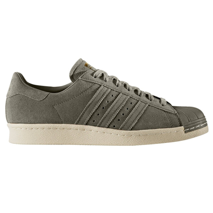 601c4d12a9b9 ... adidas Originals Superstar 80s Trainers - Trace Cargo Green front ...