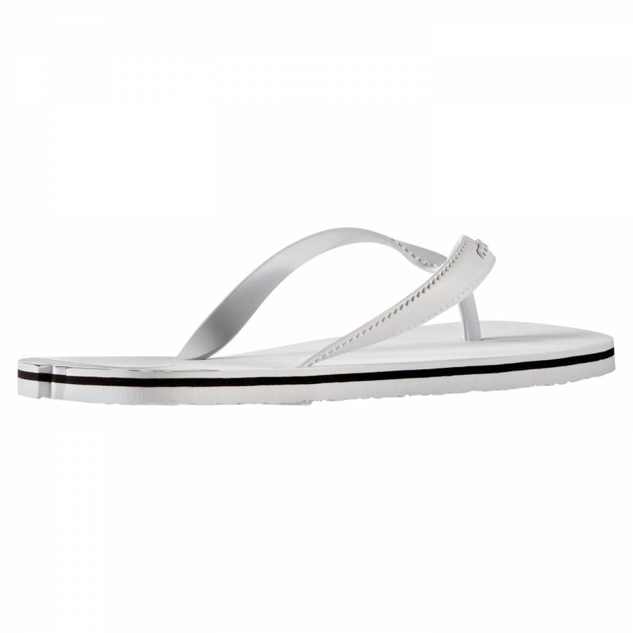 b3270ce6f adidas Originals Women s Adi Sun Flip Flops - White - Trade Sports
