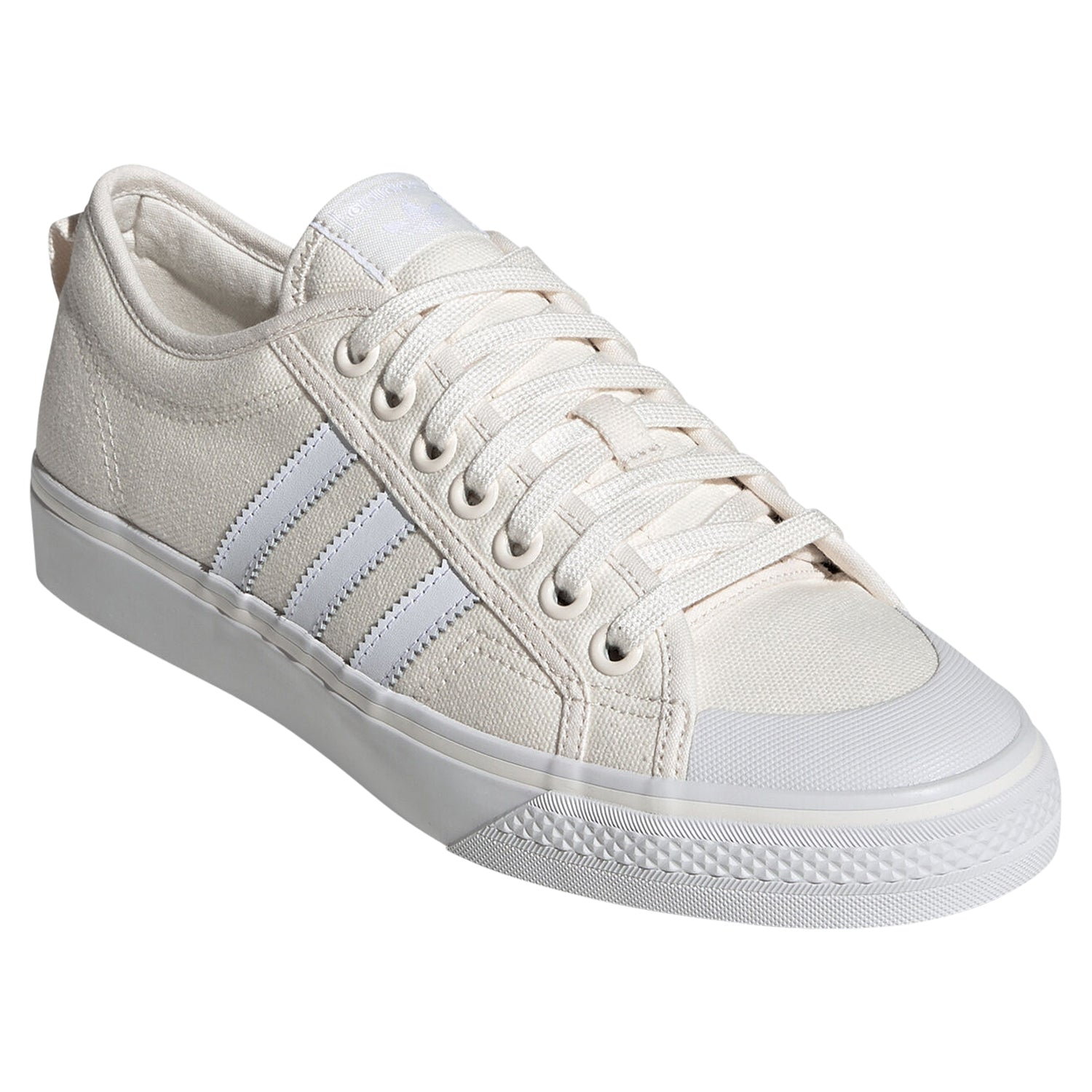 bolita Ajustarse tierra  adidas Originals Men's Nizza Lo Shoes - Off White BD7547 - Trade Sports