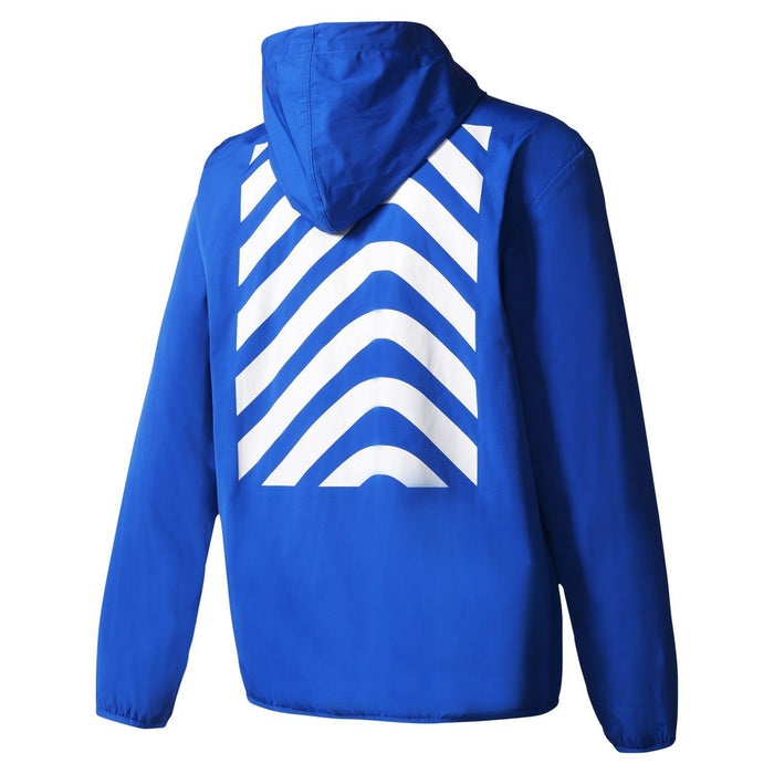 cd453a3532f5d adidas Originals Men s NYC Herringbone Windbreaker - Blue BK0031 ...