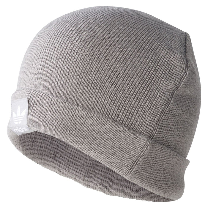 08d0c9487e6 adidas Originals Logo Beanie - Grey BR2609 - Trade Sports