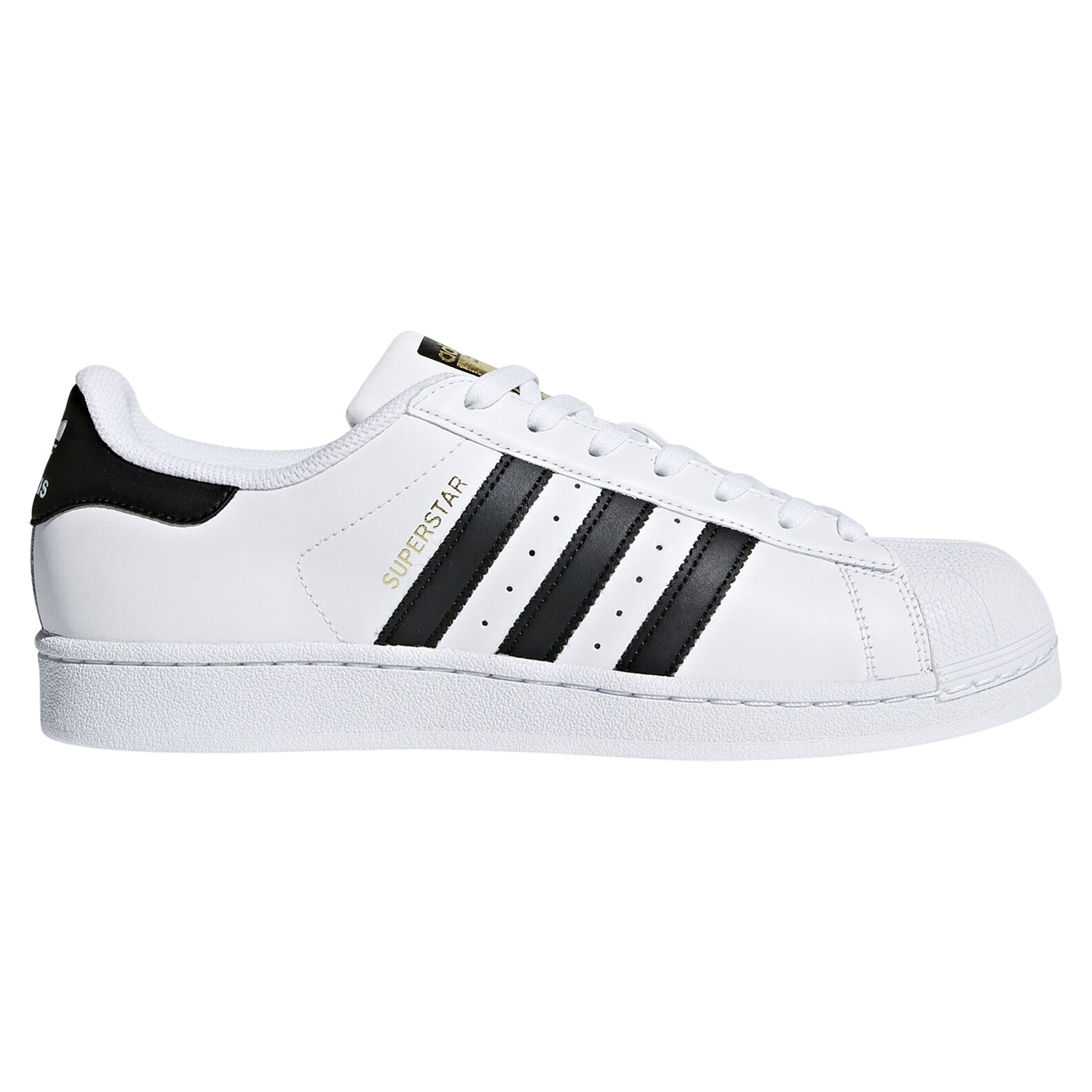 outlet store 49367 ddc4d adidas Originals Men's Superstar Trainers White