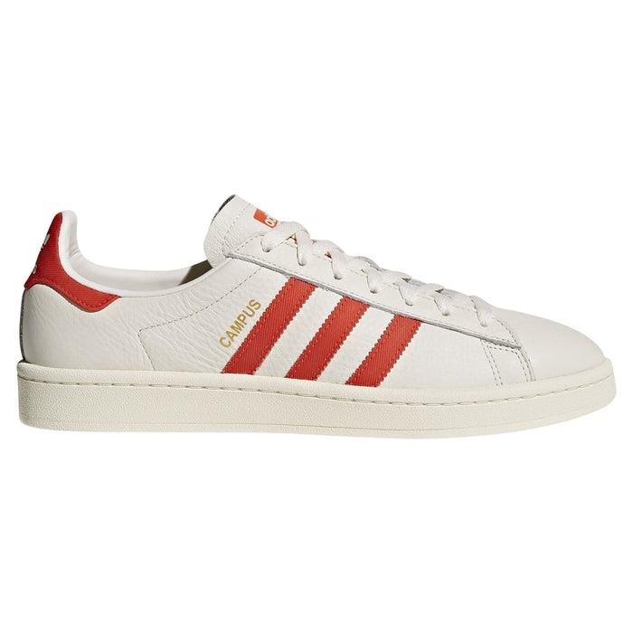 size 40 36d09 72b9f ... adidas Originals Men s Campus Trainers - Chalk White ...