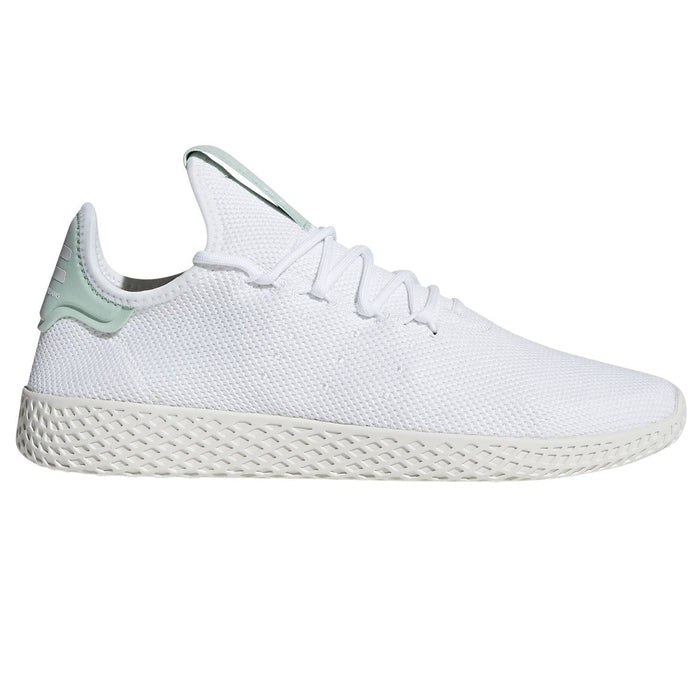 49c7a82fa10aa ... adidas Originals Pharrell Williams Hu Tennis Shoes White Green - Main  ...