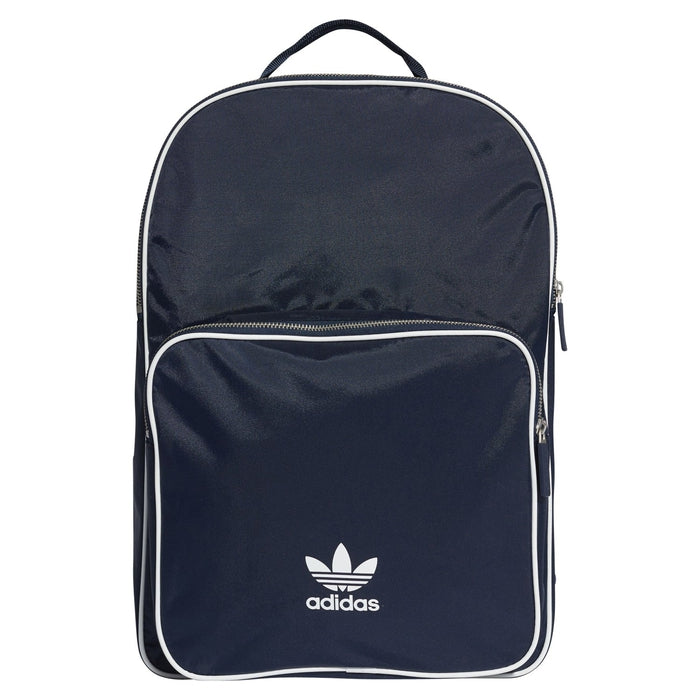 7d17307ad0f8 adidas Originals adicolor Trefoil Backpack - Navy Front ...