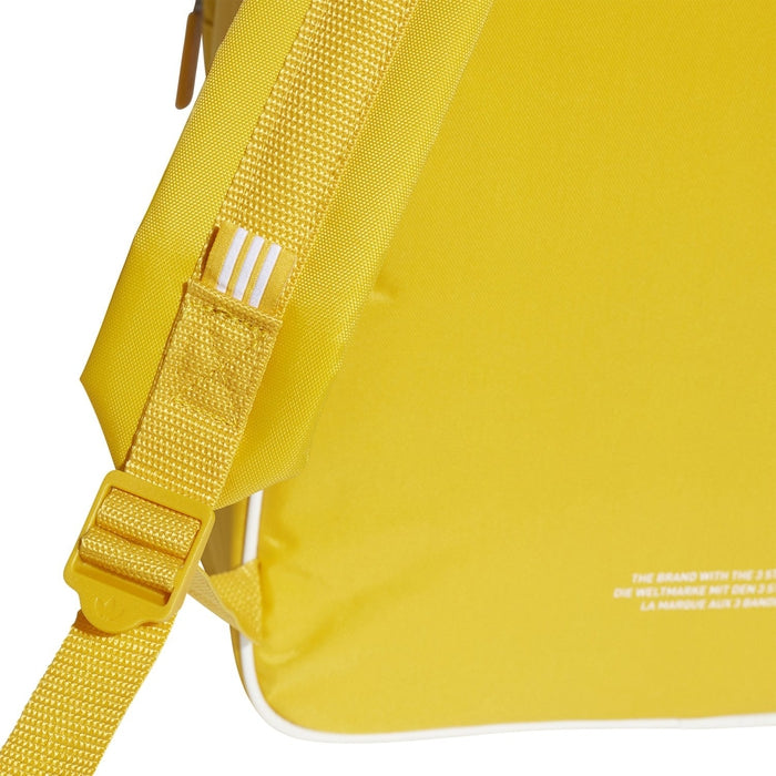 63e5f7b2aab4 adidas Originals Classic adicolor Backpack - Yellow Adjustable Straps ...