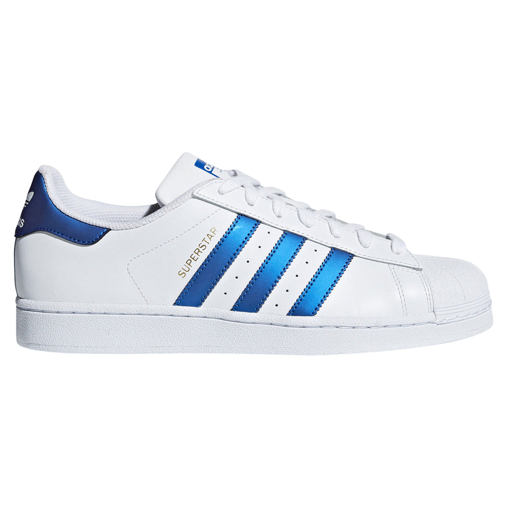 cheap for discount b4ede 13f17 tradesports.co.uk adidas Originals Men s Superstar White Blue Trainers
