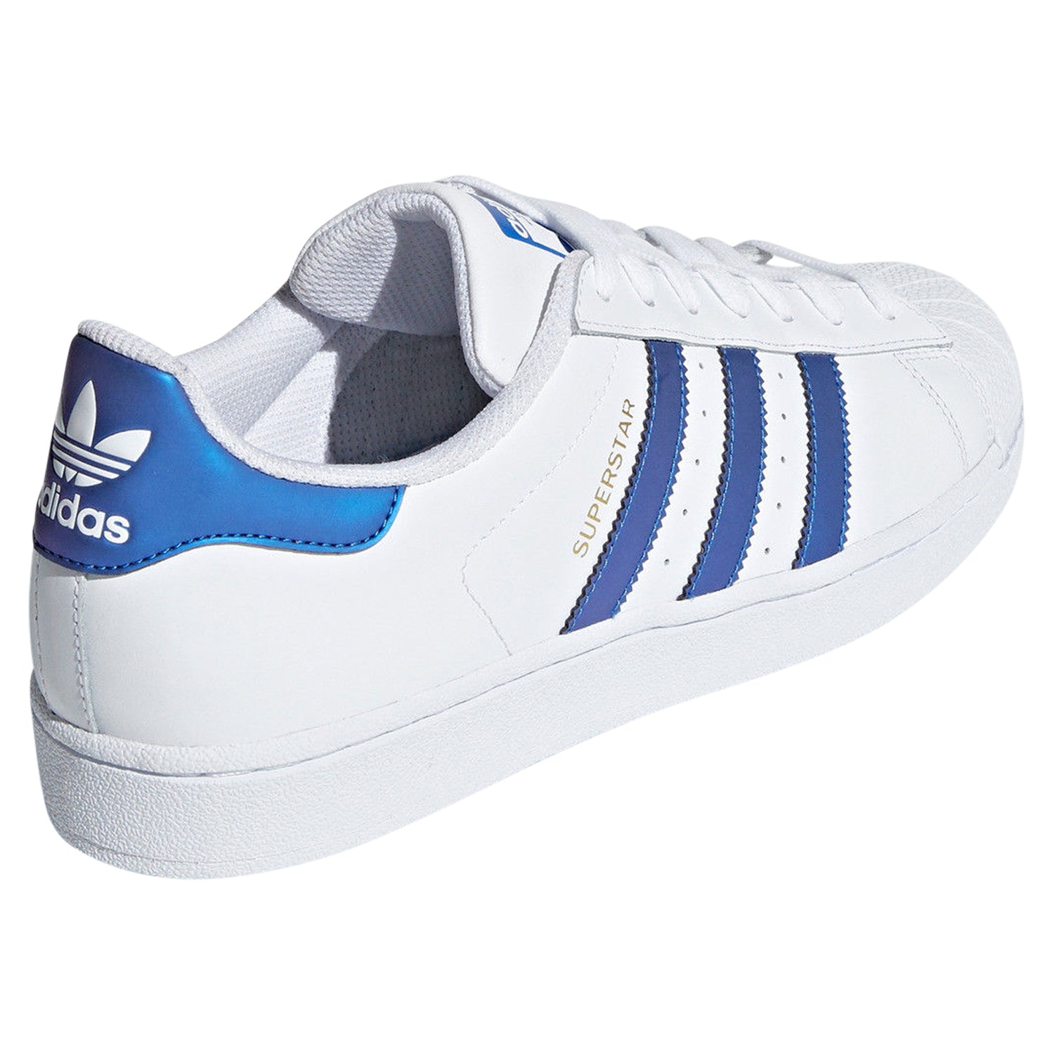 great fit f02a5 b1e85 adidas Originals Men's Superstar Leather Trainers - White