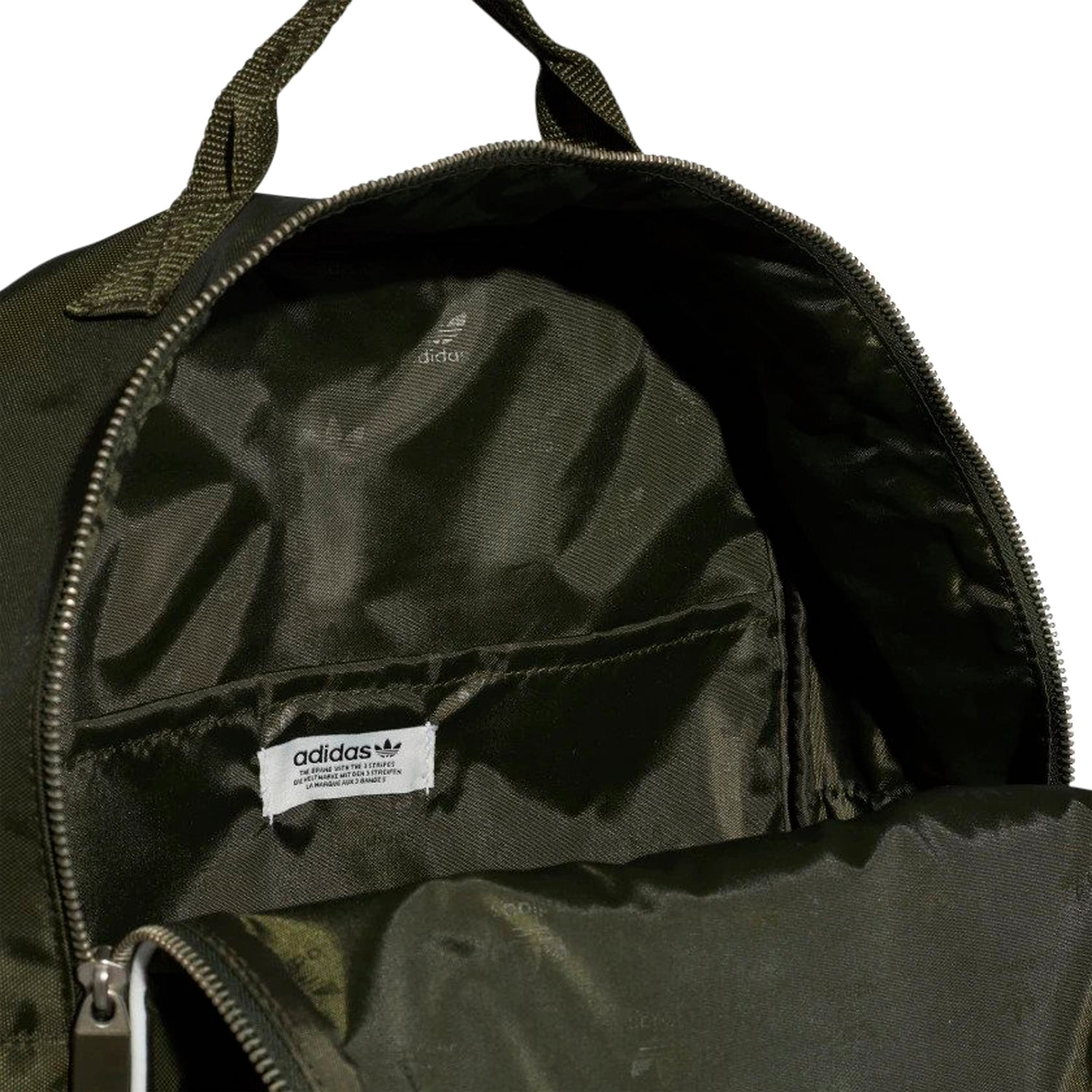 4fed511eca9 ... tradesports.co.uk adidas Originals Classic Backpack Adicolour Dark  Green ...
