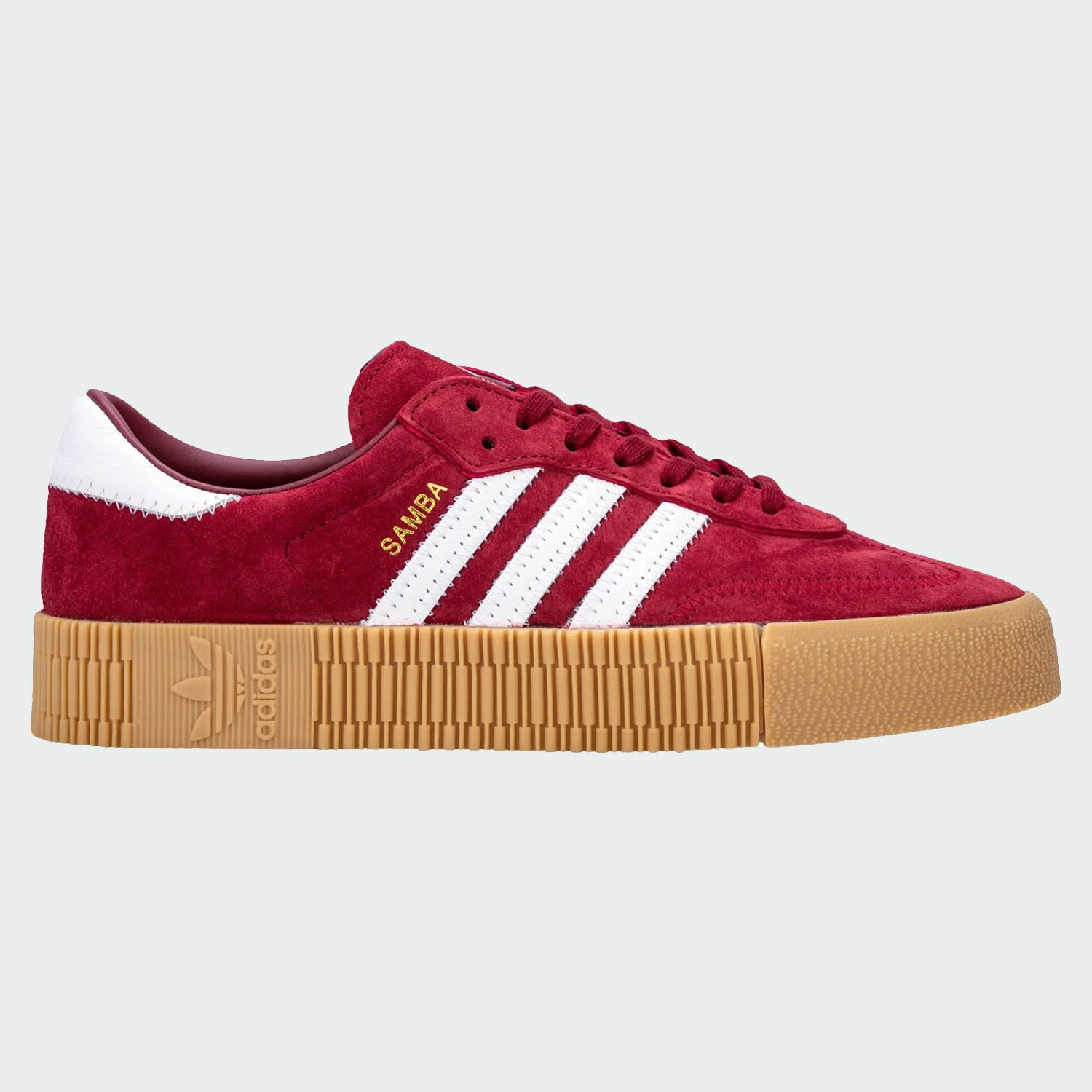 new arrivals picked up undefeated x adidas Originals Women's Samba Rose Trainers - Burgundy