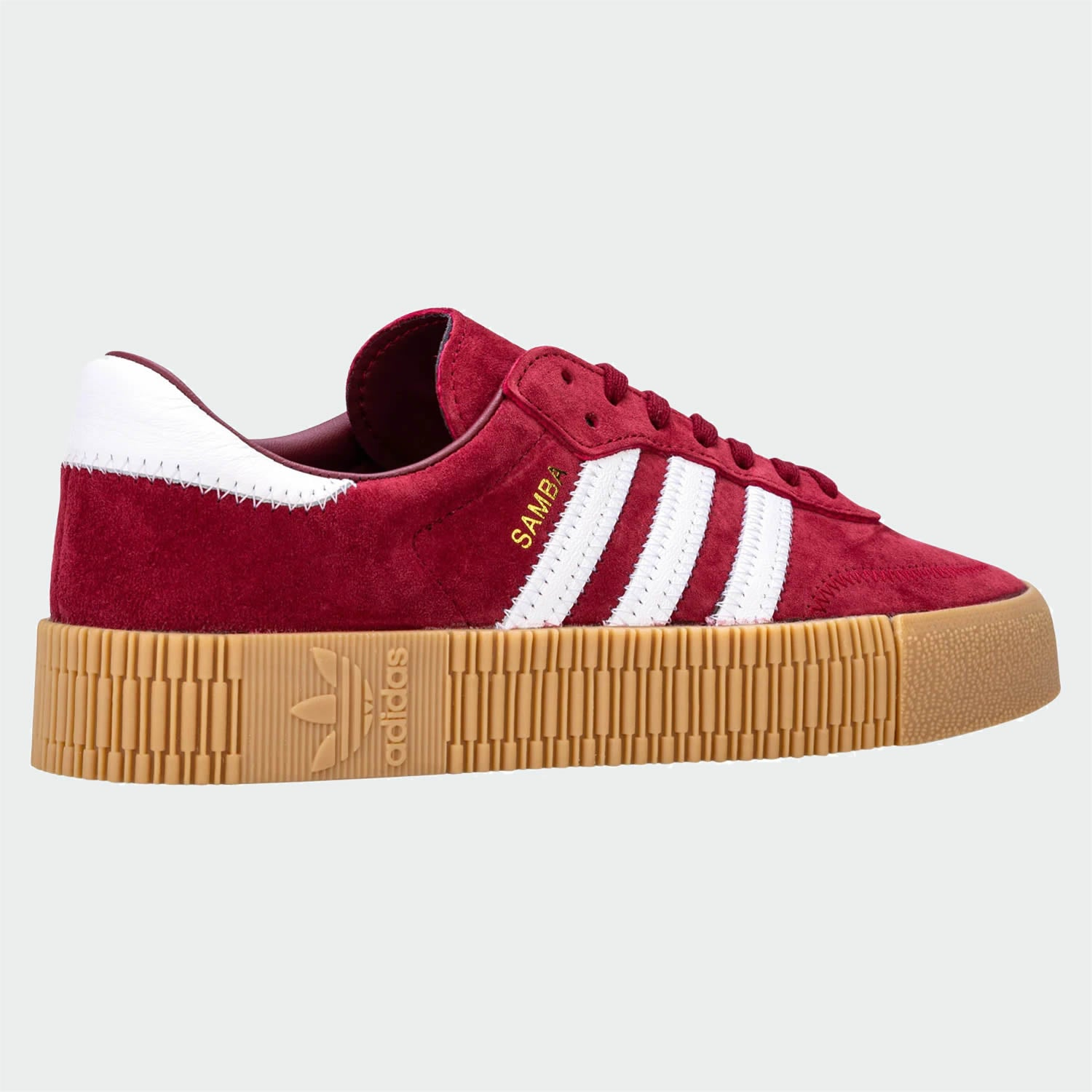 Permanent Bage resterende burgundy adidas trainers size 5 video ...