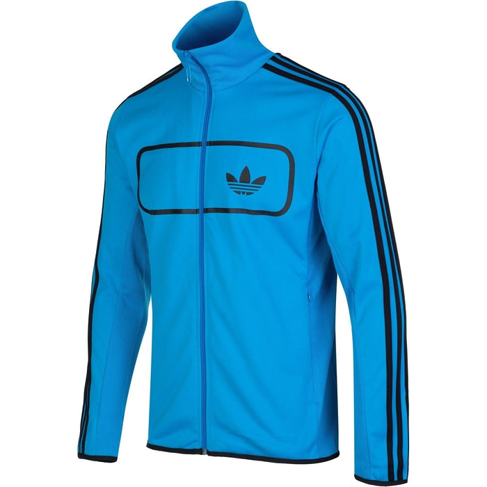 adidas originals street diver track top blue f78092. Black Bedroom Furniture Sets. Home Design Ideas