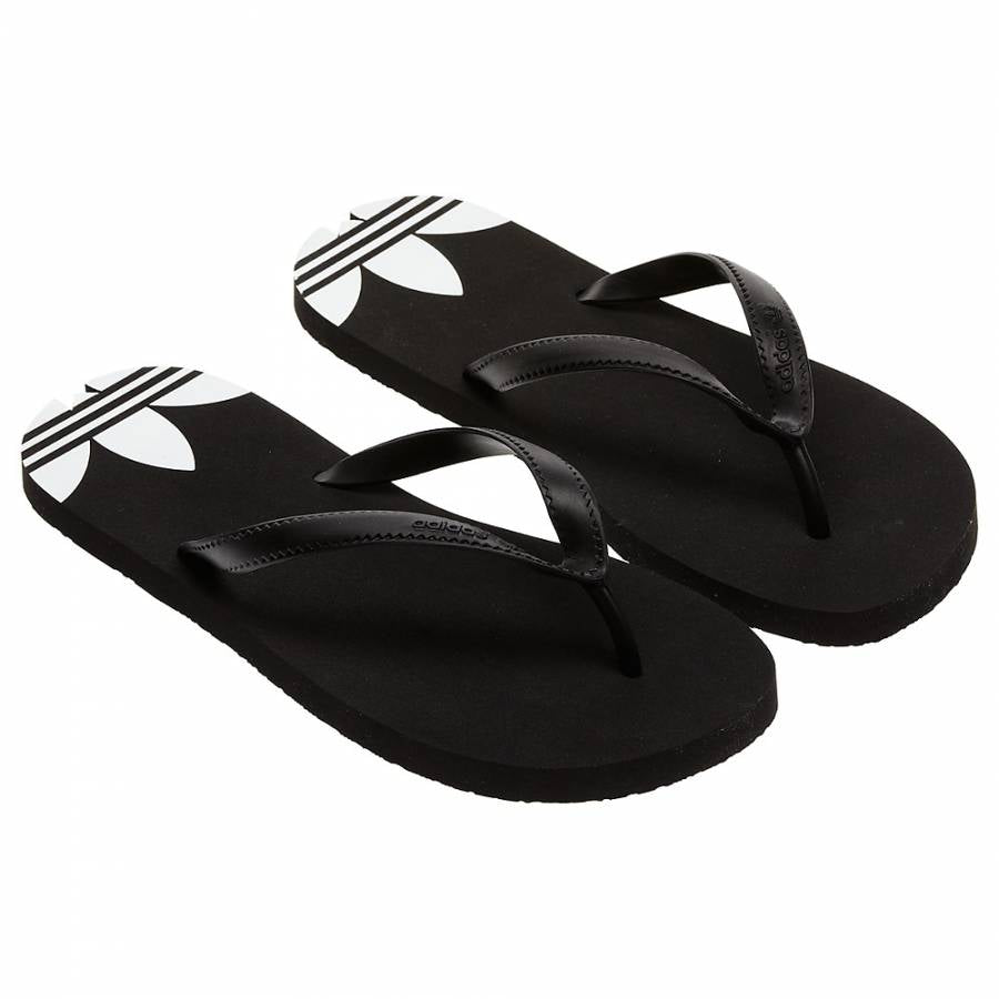 d6f9a2ced adidas Originals Unisex Adi Sun Flip Flops - Black - Trade Sports
