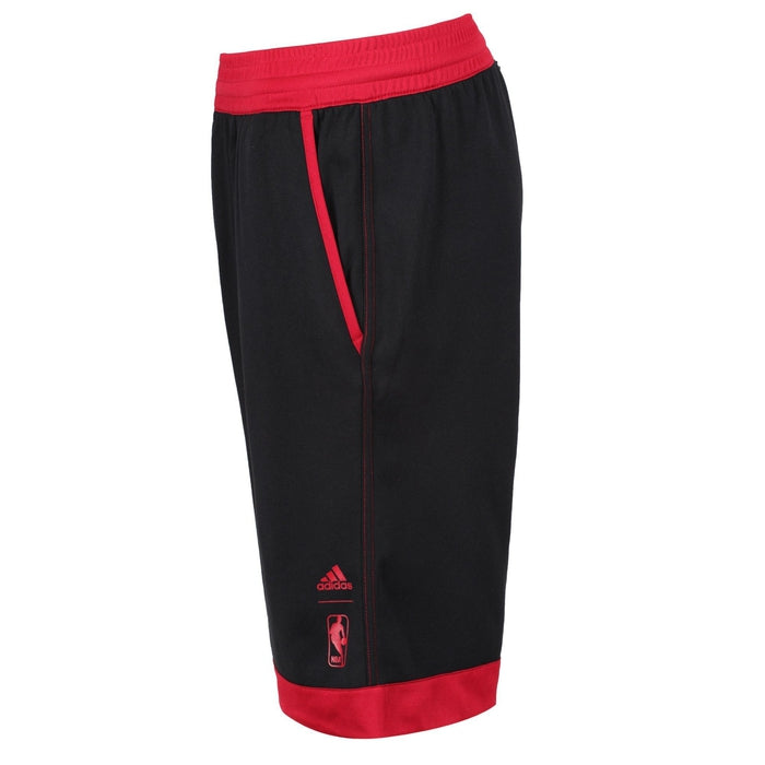 91d0dc4af ... closeout adidas miami heat mens jersey shorts black red side e8ca0 5d589