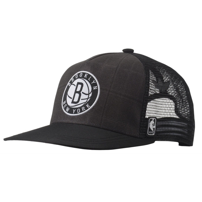 e5a4993b386 adidas Originals Brooklyn Nets NBA Tracker Cap - Black front ...