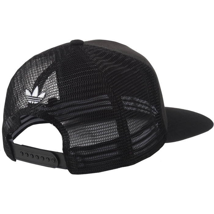 024ab895957 ... adidas Originals Brooklyn Nets NBA Tracker Cap - Black back ...