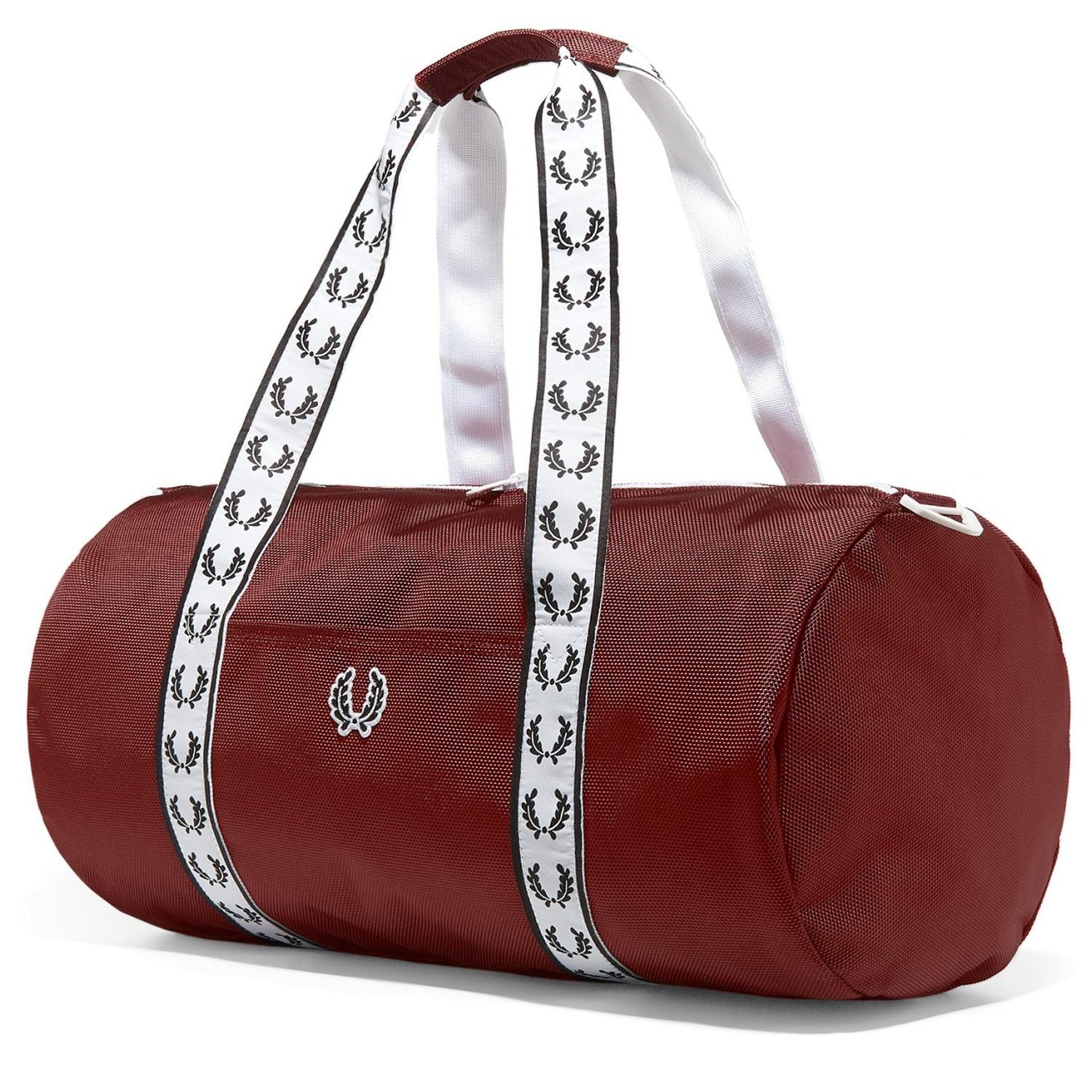 e2006acfa Fred Perry Unisex Track Barrel Bag - Maroon - Trade Sports