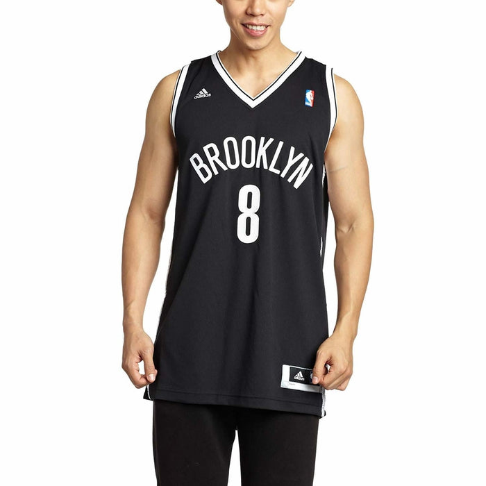 premium selection 3eea8 48c08 adidas Brooklyn Nets Deron Williams Swingman Jersey - Black