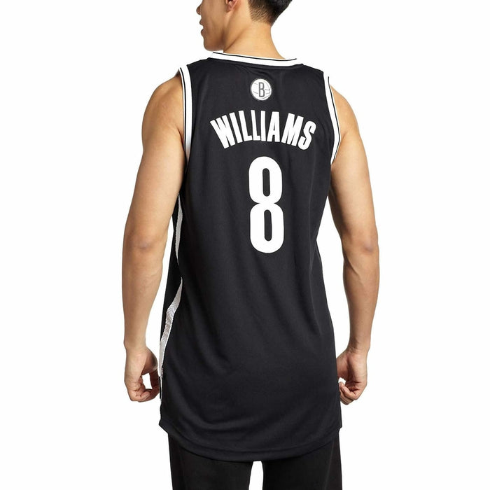 premium selection f77b5 3e0fe adidas Brooklyn Nets Deron Williams Swingman Jersey - Black