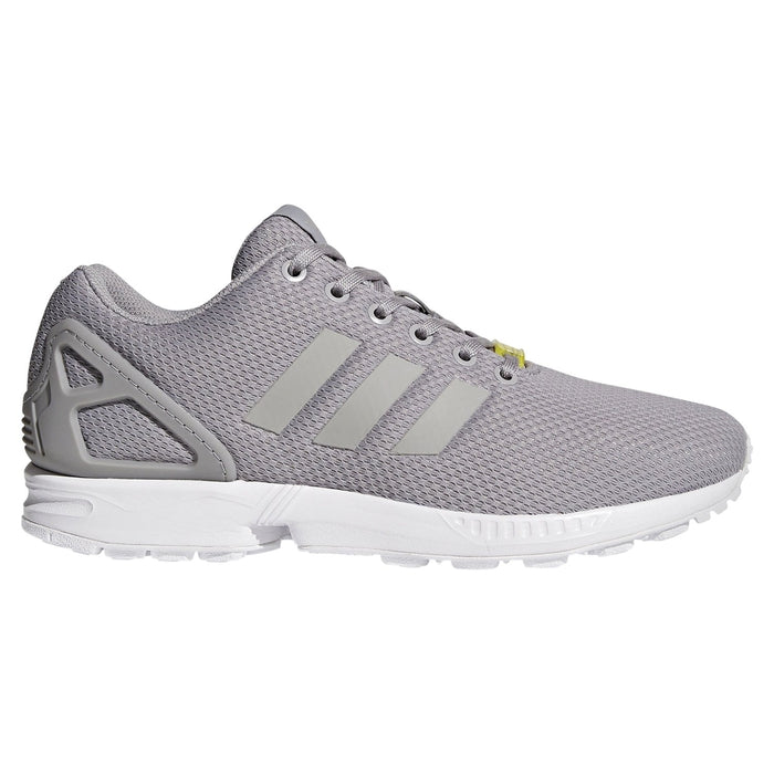 first rate fd3eb 8314a ... adidas Originals Men s ZX Flux Trainers - Grey Main ...