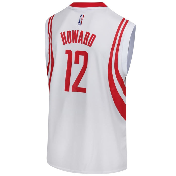 ba9eadd22 ... adidas Houston Rockets Howard Replica Basketball Jersey - White - Back  ...