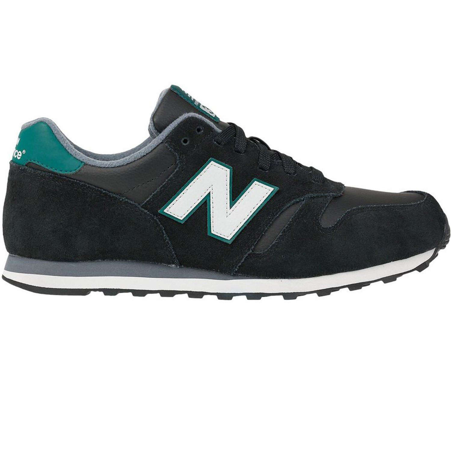 9f575ffb6659e New Balance Men's 373 Trainers - Black/Green - Trade Sports
