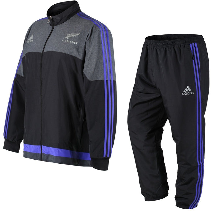adidas New Zealand All Black Tracksuits - Black - 3XL - Trade Sports 1043bad59