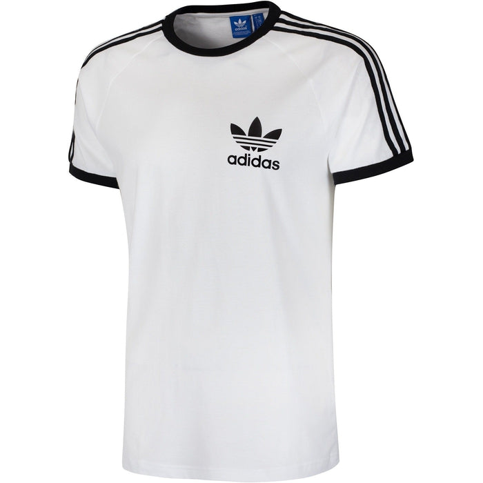 best service 64d42 bcf3f ... adidas Originals Californa Tee Shirt White front2 ...