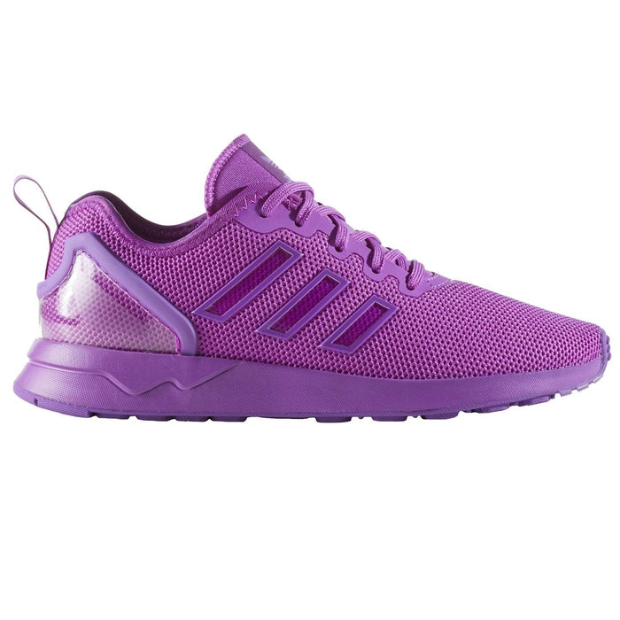 d458757be ... adidas Originals Junior ZX Flux Adv - Purple - front ...
