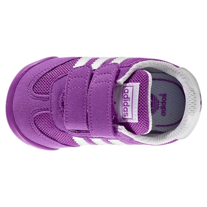 new style 9a3da 15edf ... adidas Originals Girls Dragon Learn 2 Walk Purple - Top ...