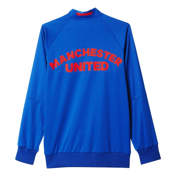 d8ab0e586 adidas Manchester United Away Anthem Jacket - Blue - S95558 - Trade ...