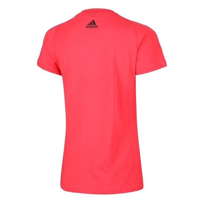 08387ec1 adidas Women's Essentials Linear T Shirt - Pink - Trade Sports