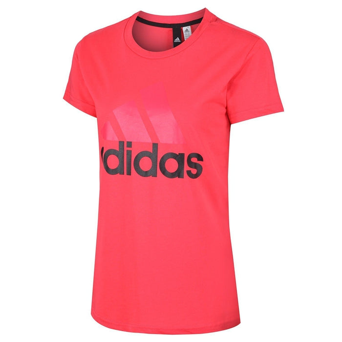 adidas Women s Essentials Linear T Shirt - Pink - Trade Sports. 18fffcdae61