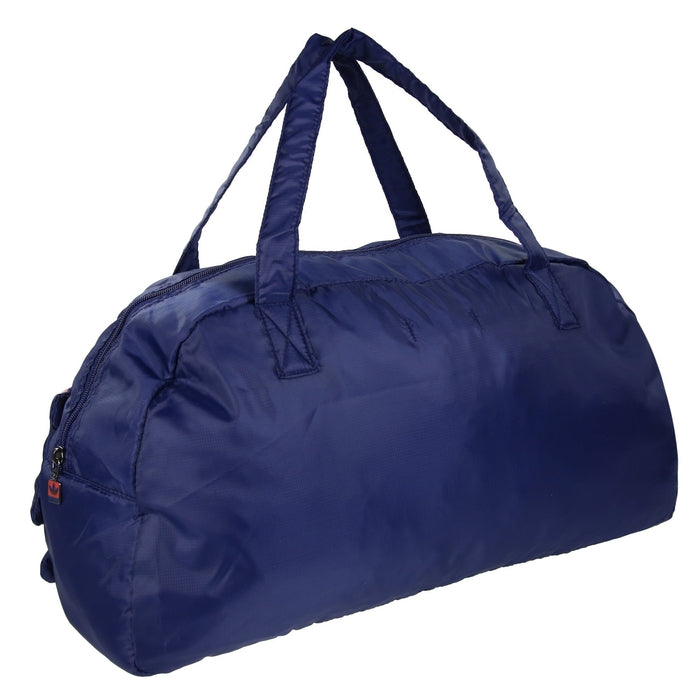 fc38aebe44b9 ... adidas Originals Gym Bag Blue Red Foldaway - Back ...