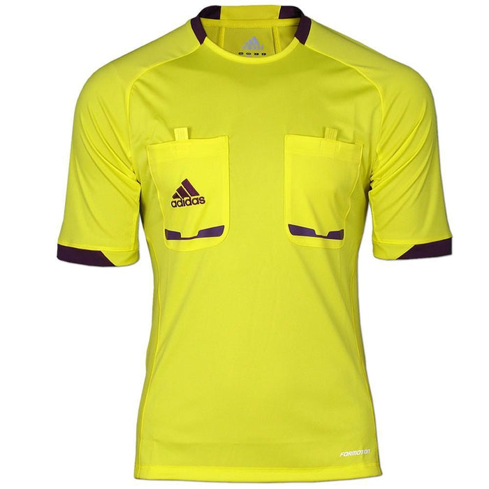 2be00d4f32b adidas Essentials Men s Referee 2012 SS Shirt - Yellow - Trade Sports