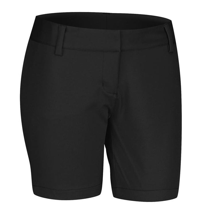 new arrival performance sportswear good texture adidas Women's ClimaLite Golf Shorts - Black