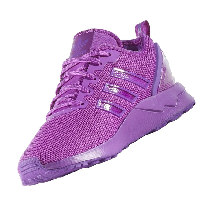 sale retailer 9b600 9b192 ... adidas Originals Junior ZX Flux Adv - Purple - side 1 ...