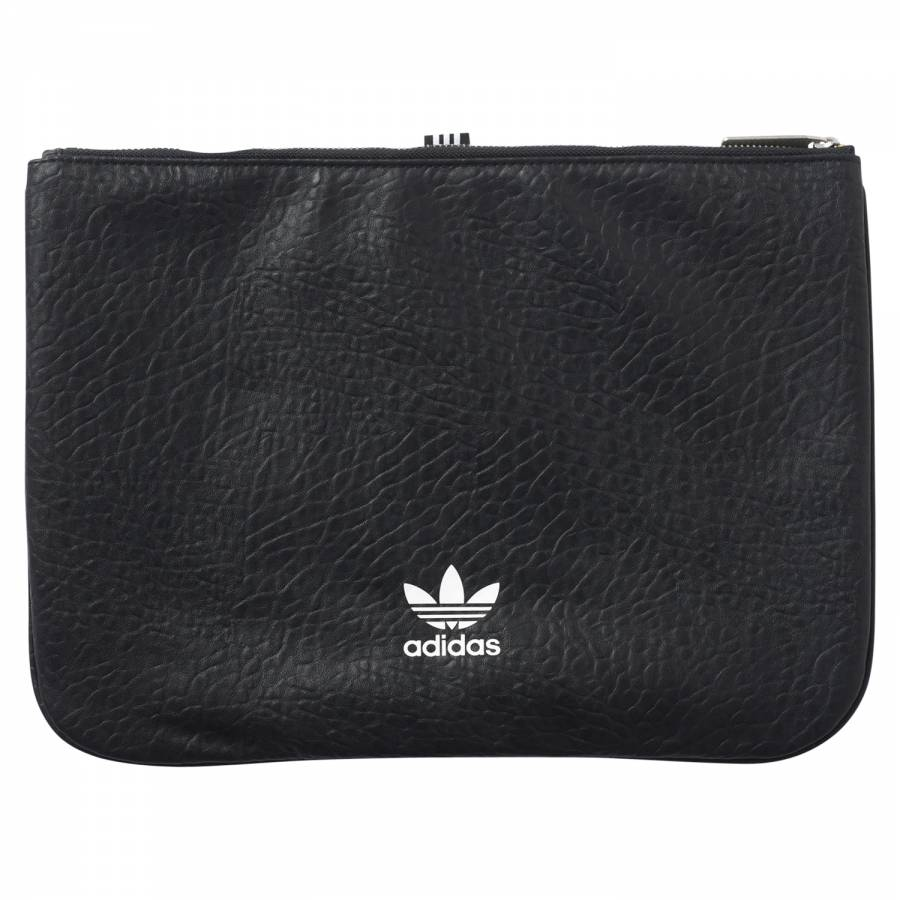 4d7dc50f adidas Originals adicolor Leather Sleeve Bag - Black BK6962 - Trade ...