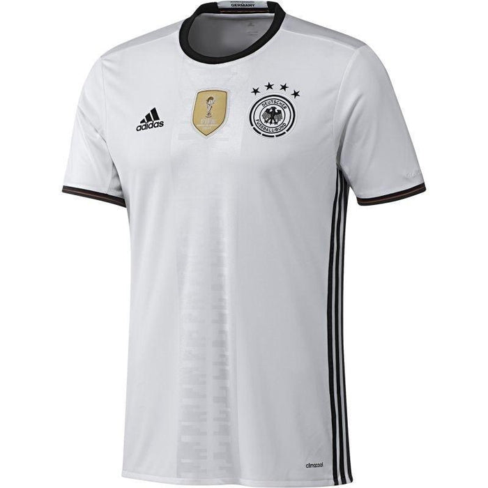 3091731ffd3 ... adidas Germany Home Jersey 16-17 - White - front ...