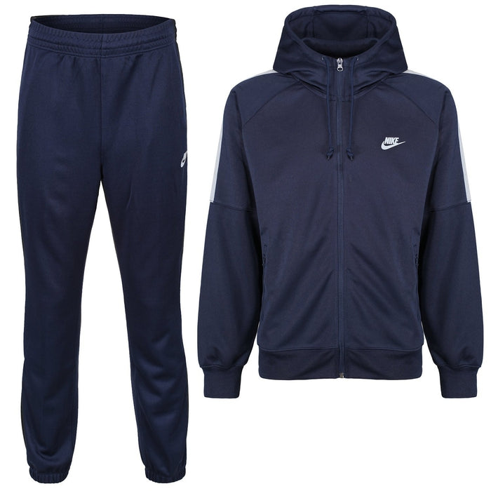 hot sale classic shoes outlet on sale Nike Men's Tribute Tracksuit - Navy