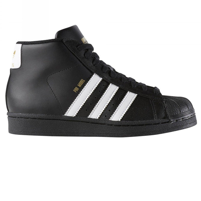 best service 0c23e 8fabb adidas Originals Junior Pro Model B Grade Trainers - Black ...