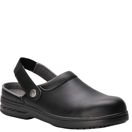 Black Safety Clog