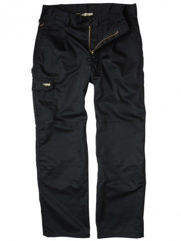 Apache Black Industry Cargo Trouser