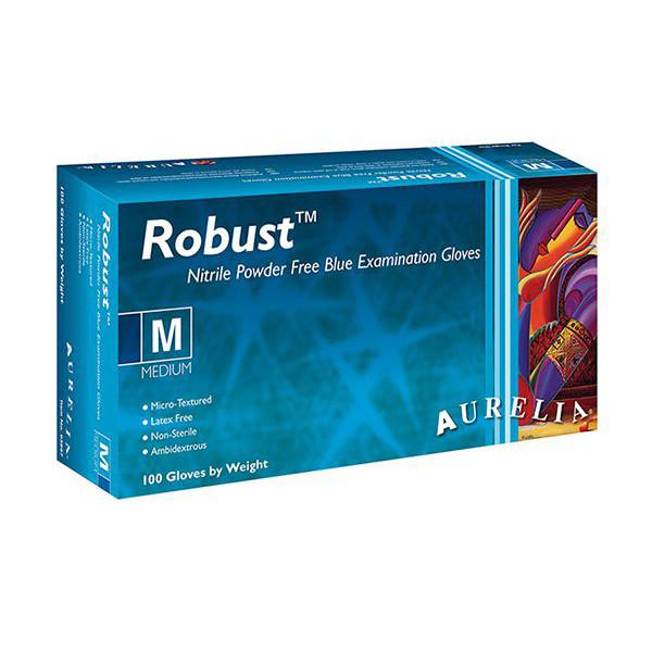 Aurelia® Robust Nitrile powder free examination gloves