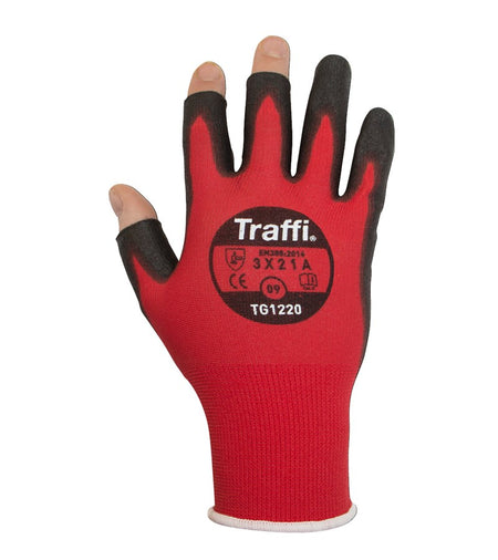 TG1220 Dexterous Exposed Finger Tip Cut Resistant Gloves