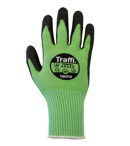 TG5210 PU Coated Cut Resistant Safety Gloves