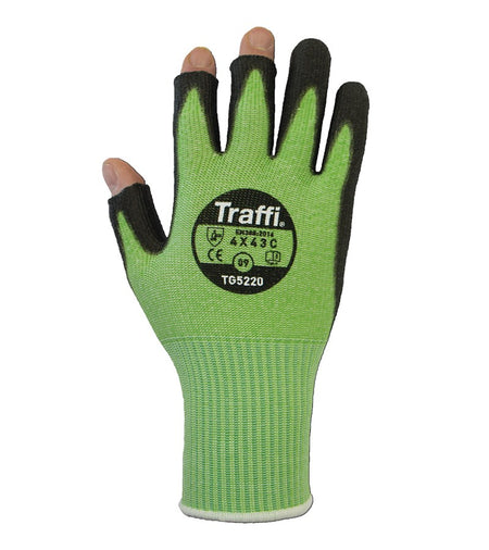 TG5220 Dexterous Fingerless PU Gloves