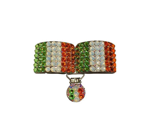 Ireland flag Irish Dance Shoe Buckles