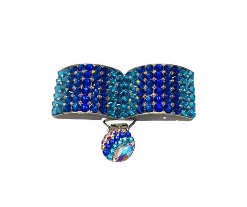 Irish Dance Shoe Buckles classic deluxe blue
